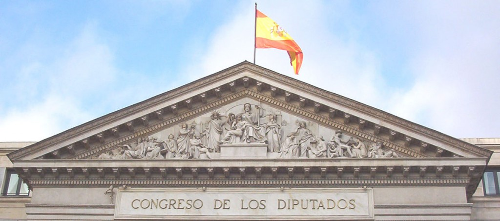 Congreso de los Diputados  (© Luis García. Licensed under CC BY-SA 3.0 via Wikimedia Commons)