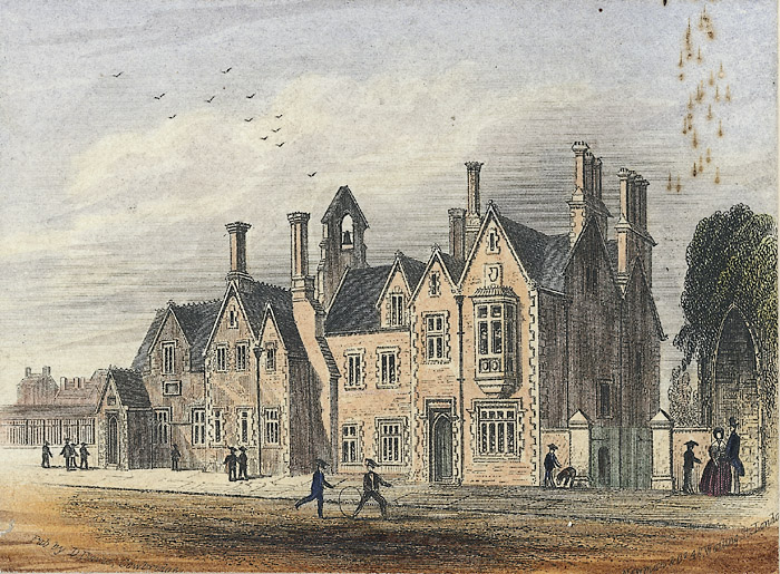 Cowbridge School, 1860
