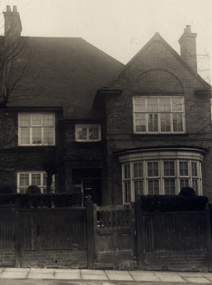 49 Hollycroft Avenue during the Berlins' occupancy